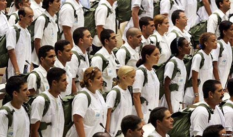 Vagat tal av obama ger kubaner hopp