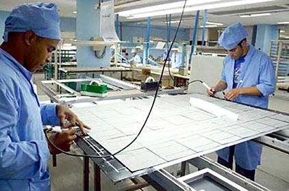 Fabrik solceller