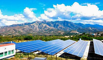 Solkraft på Kuba
