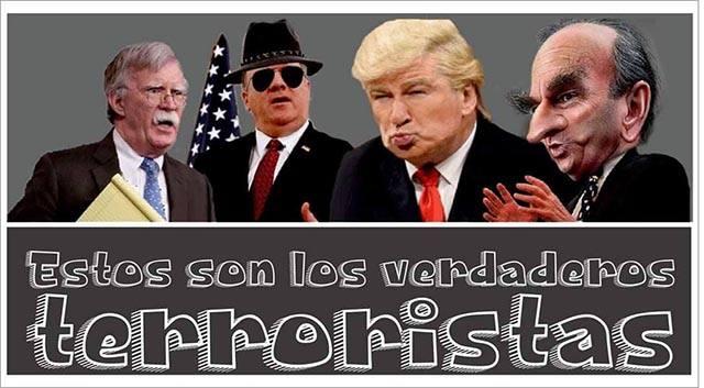 los verdaderos terroristas