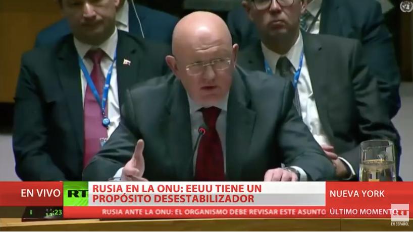 Rusia ante la ONU