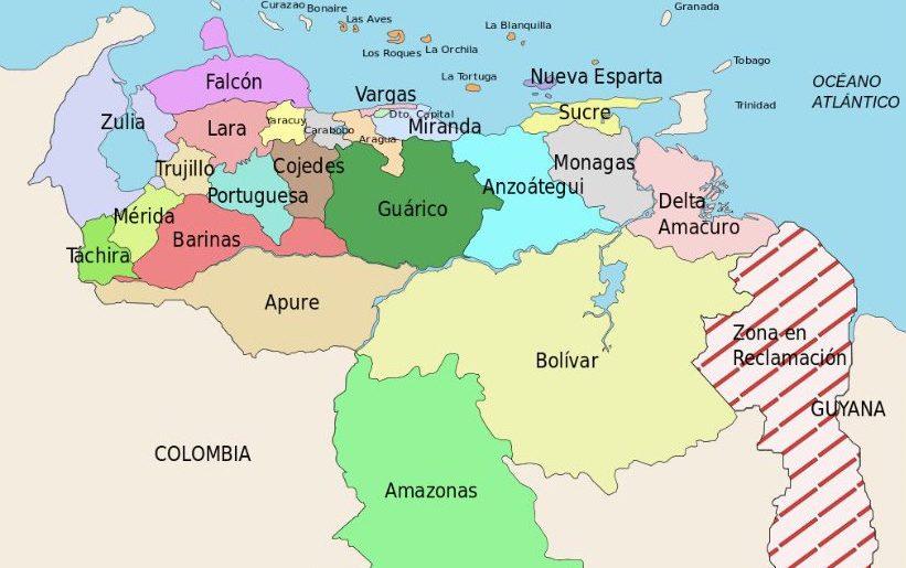 Venezuela stater Wikipedia