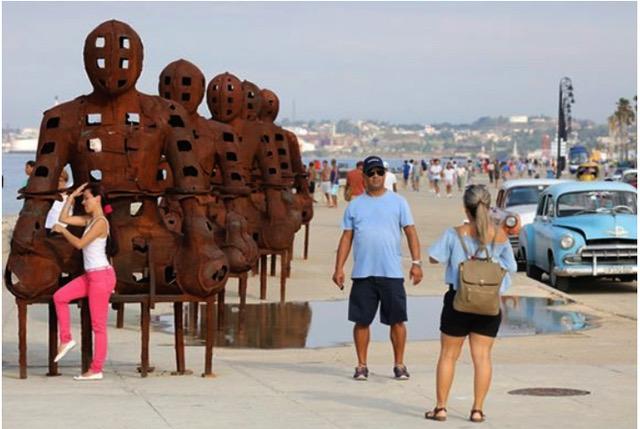 Skulptur Malecon
