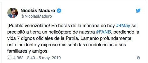 helikopter Maduro tw