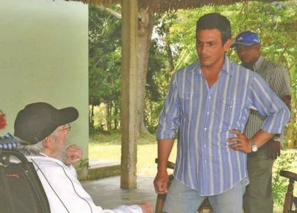 visita de Fidel a Funes