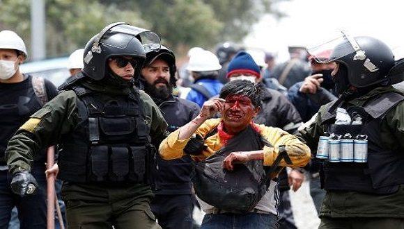 Bolivia_våld