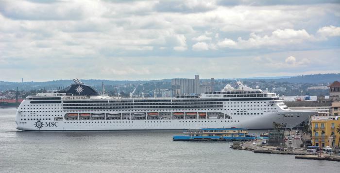 Kryssningsfartyg i Havanna