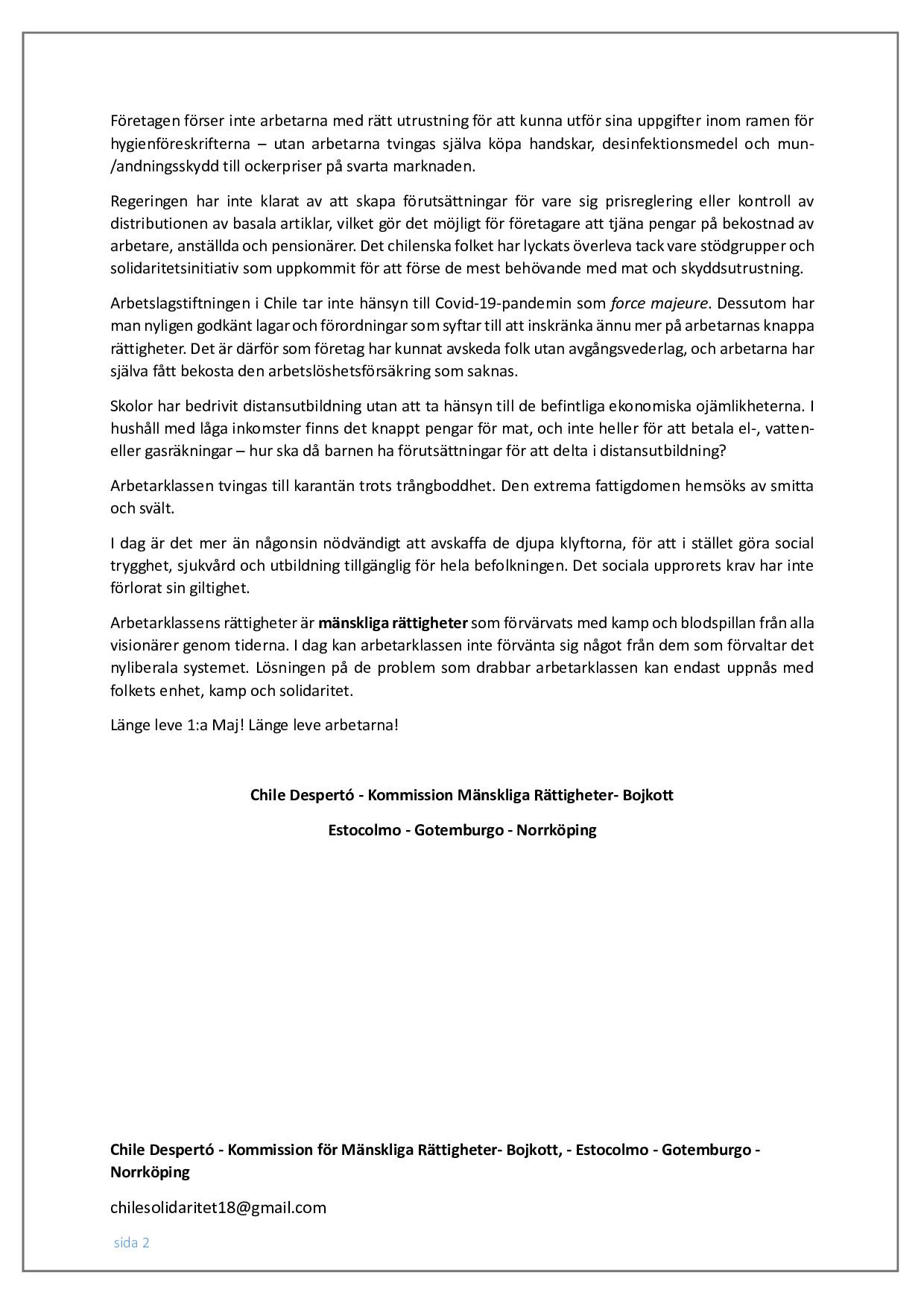 Uttalande Första Maj-Chile_002