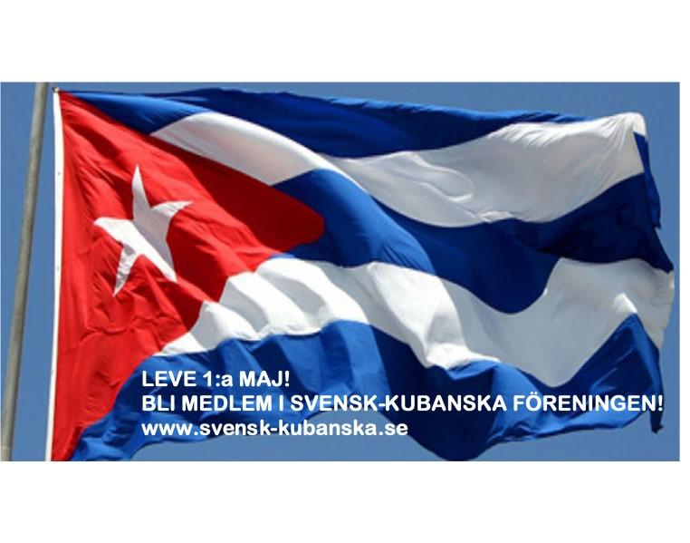 Flagga 1 maj