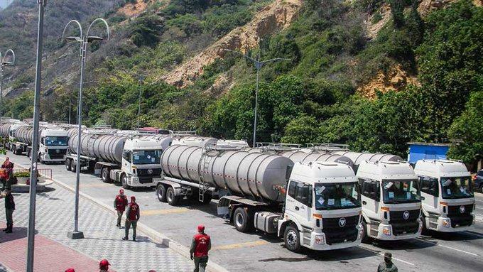 Venezuela_Vattenlastbilar-stoppasUSA