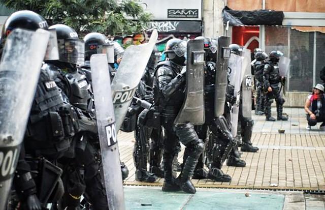 Colombia_polisvåld