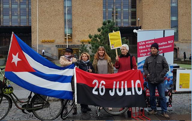 Blockadaktion Medborgarplatsen 24.10-2020