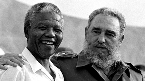 Fidel och Mandela