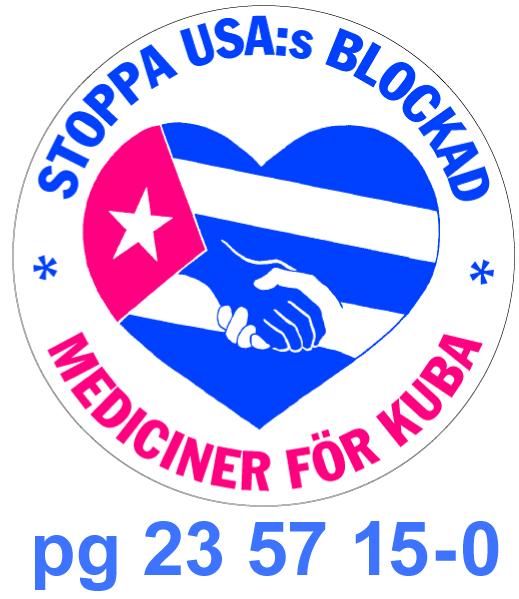 3) Mediciner för Kuba Pg logo