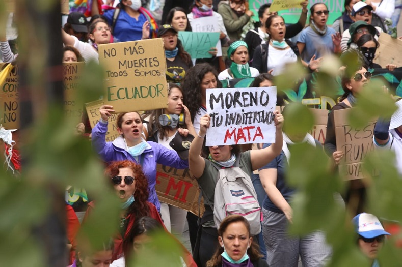 Ecuador_manifestantens