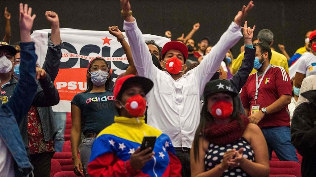Venezuela_PSUVanhängare