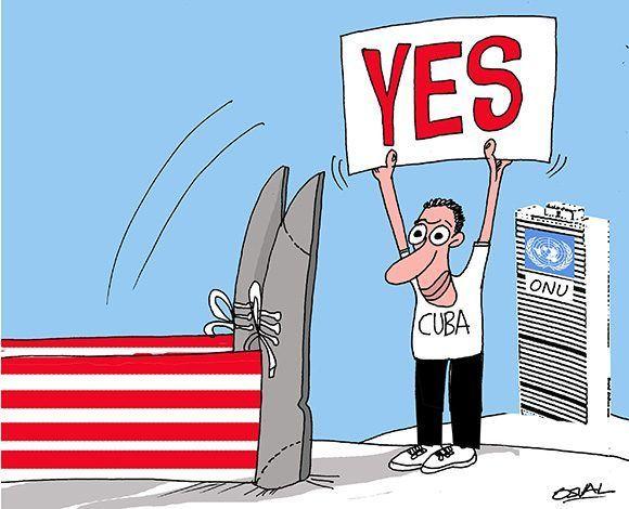 Cuba-bloqueo-caricatura-onu-580×470