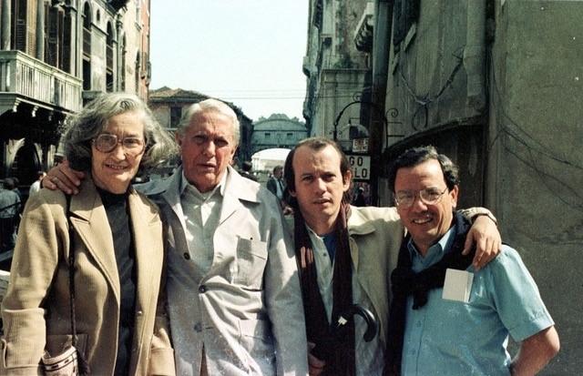 Silvio-Rodríguez-Cintio-Vitier-Fina-García-Eusebio-Leal-en-Venecia1985